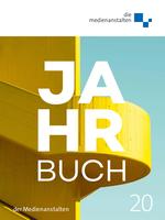 Jahrbuch 2020 - die Medienanstalten Cover